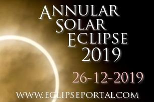 Annular Solar Eclipse Live Webcast 2019